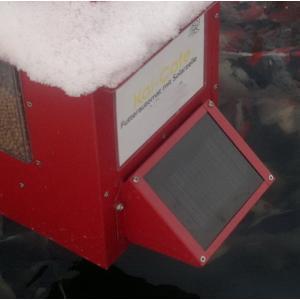Zonnepaneel voor voederautomaat koi cafe - Metallic