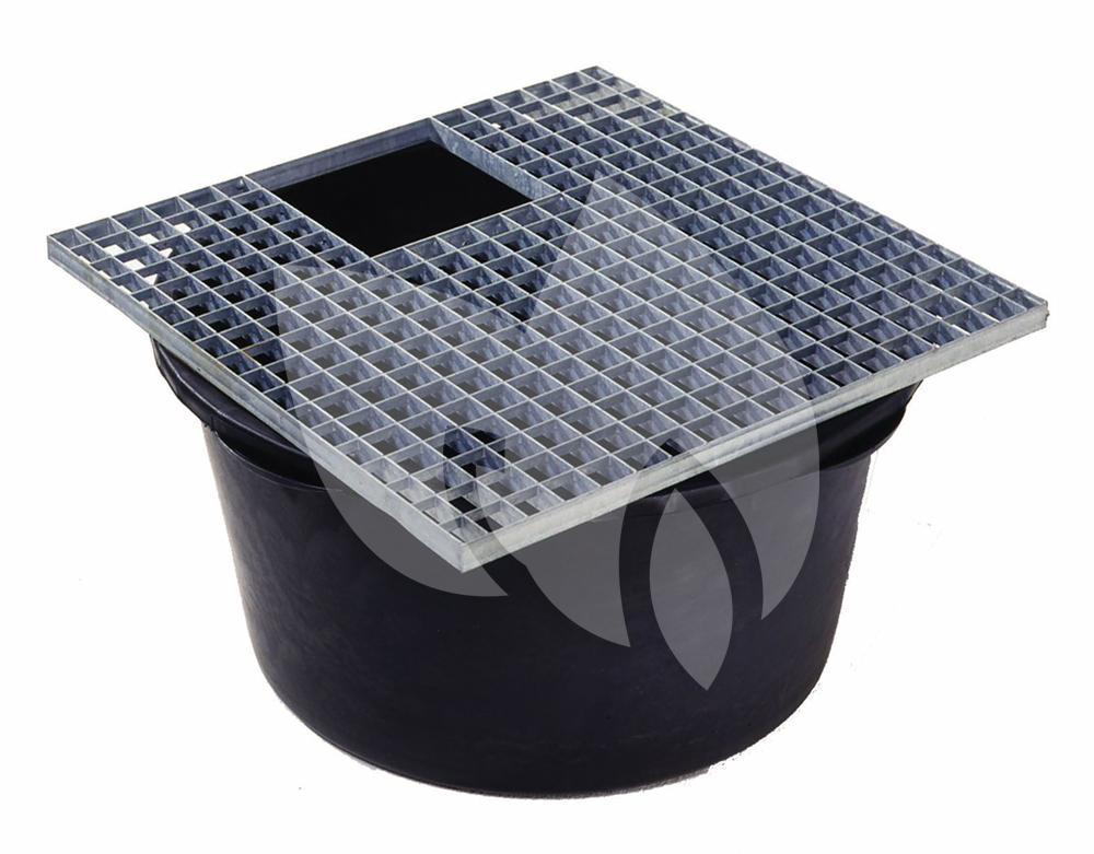 Ubbink afdekrooster vierkant for Vierkant zwembad met pomp