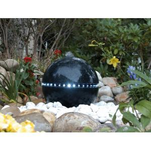 Dubai waterornament deze beeldschone, antracietkleurige terrazzobol is een aanwinst voor uw tuin! de dubai ...