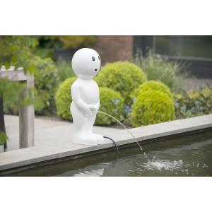 Dagaanbieding - Spuitfiguur Boy 67 cm wit dagelijkse aanbiedingen