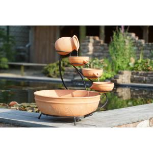 Dagaanbieding - Terracotta watervalelement klein dagelijkse aanbiedingen