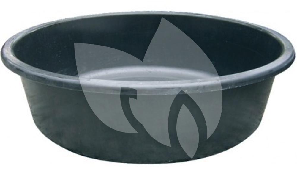 Express fonteinvijver polyester rond 120 cm for Houten vijverbak