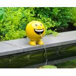 Be Happy geel 19 cm spuitfiguur