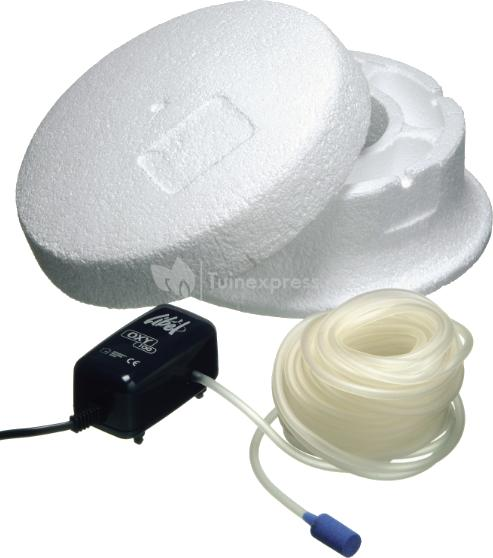 Ubbink vijver ijsvrijhouderset for Filterpomp vijver